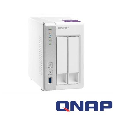 QNAP TS-231P 網路儲存+WD 2TB*2顆