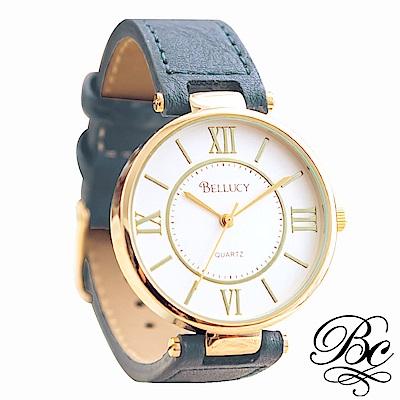 BELLUCY 羅馬假期女錶(寧靜藍)