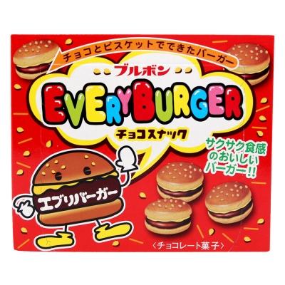 Bourbon北日本 漢堡巧克力餅乾(66g)