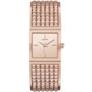 DKNY Bryant Park 時尚女王派對手環腕錶-玫瑰金/22mm