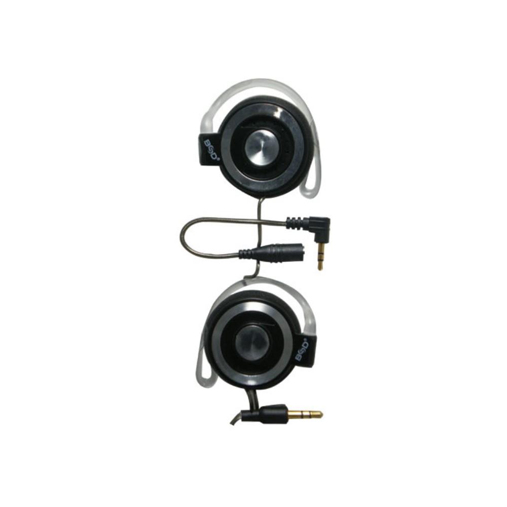 BSD立體聲轉接線耳掛式耳機SP-767