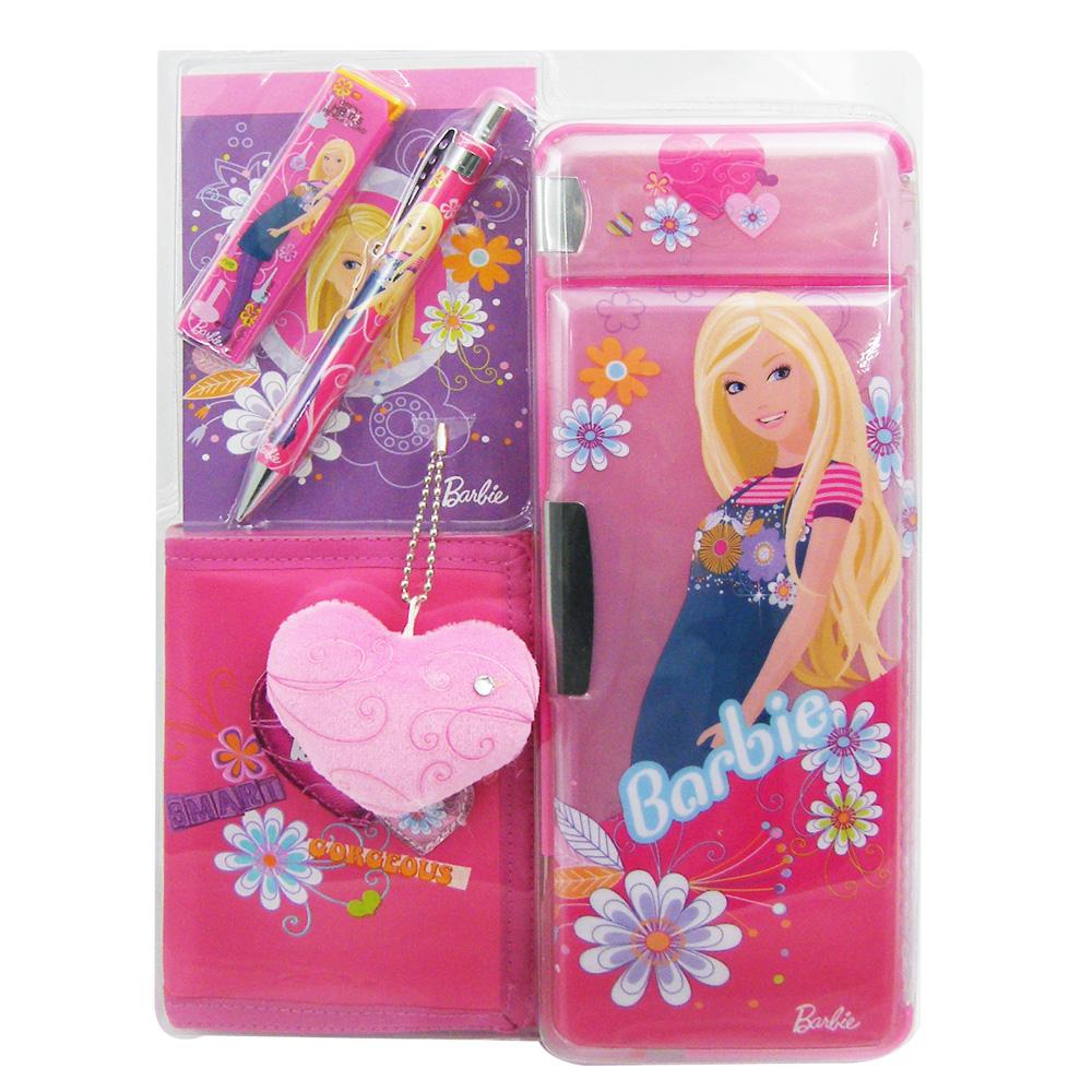 【芭比Barbie】芭比屋形禮盒-桃紅