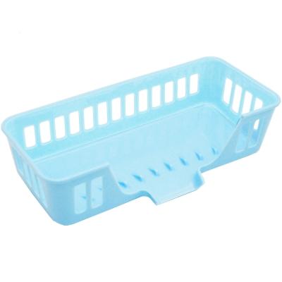 多用途排水式置物架收納籃瀝水架2入(顏色隨機出貨)