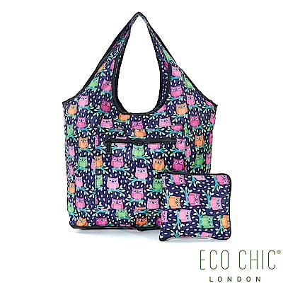 英國ECO CHIC旅行用休閒袋-貓頭鷹