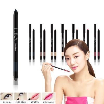 韓國LUNA 眼唇頰彩氣墊筆0.4g#1極致黑