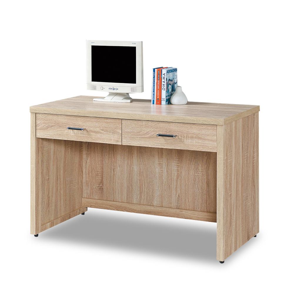 時尚屋 波香橡木4尺書桌 寬121x深60.5x高81cm