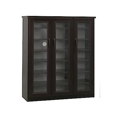 品家居 瑪波3.2尺環保塑鋼三門鞋櫃(四色)-97x33.5x117cm-免組