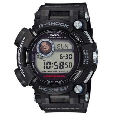 G-SHOCK 潛水專用水中蛟蛙強悍進化版六局電波錶(GWF-D1000)53.3mm
