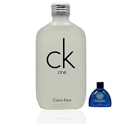 Calvin Klein Ck One 100ml + 藍調 3ml 小香(促銷)