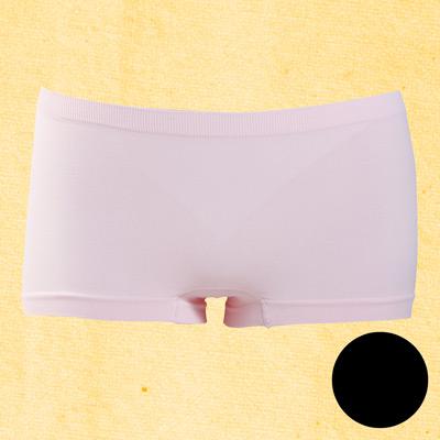 #【華歌爾】生物能健康系列M-LL中低腰無縫褲(黑莓甜心)