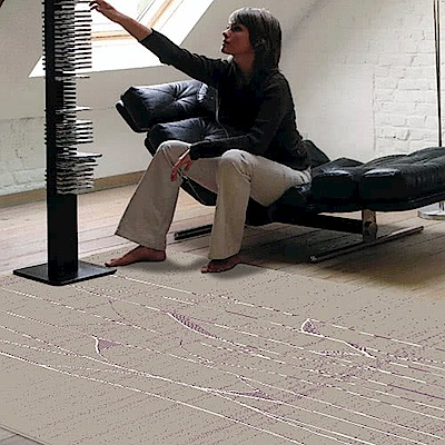 范登伯格 - 荷莉 進口地毯 - 海景 (大款 - 160 x 230cm)