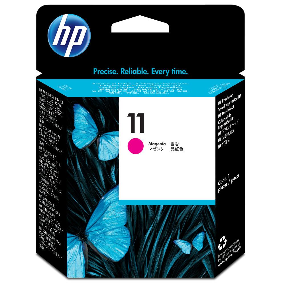 HP  NO.11 原廠洋紅色列印頭C4812A