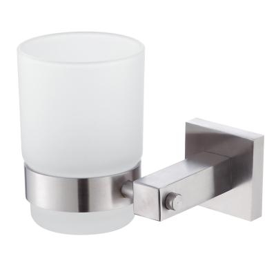 Homeicon 衛浴配件-霧面不鏽鋼牙杯架