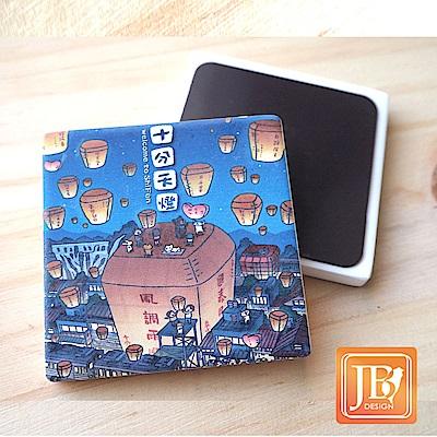 JB Design_就是愛台灣杯墊方磁鐵-750_風調雨順天燈