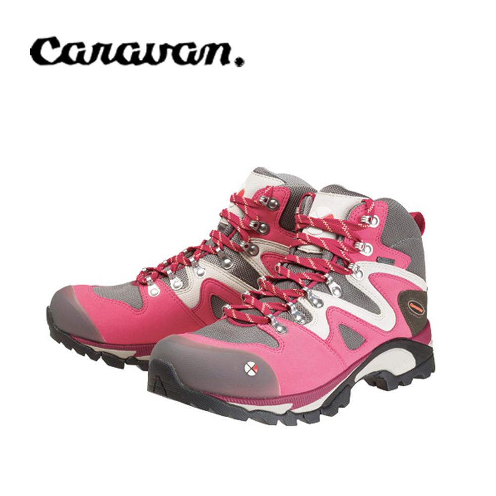 【caravan】C4_03S 戶外登山健行女鞋  粉紅 0010403