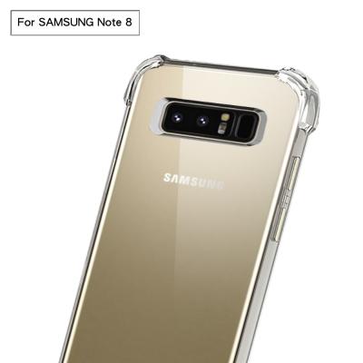 防摔專家 Samsung Galaxy Note 8吸震防摔透明手機殼