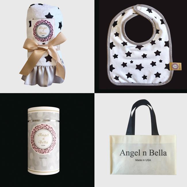 【美國 Angel n Bella】 許願星星安撫彌月禮盒