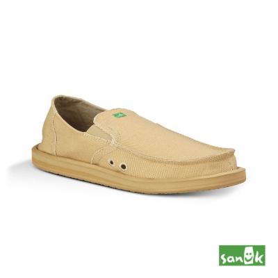 SANUK 口袋系列懶人鞋-男款(褐色)
