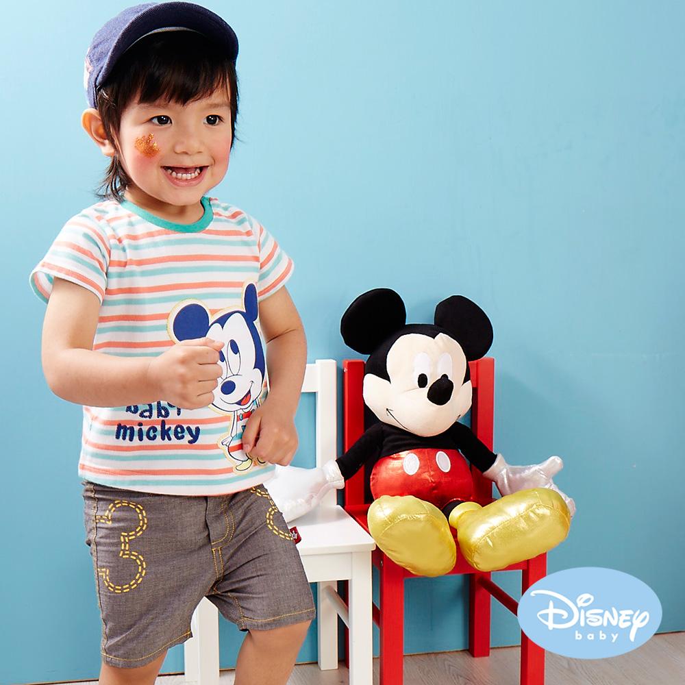 Disney Baby 印圖仿牛仔輕薄褲 灰色