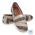 TOMS 經典條紋懶人鞋-女款(黑)