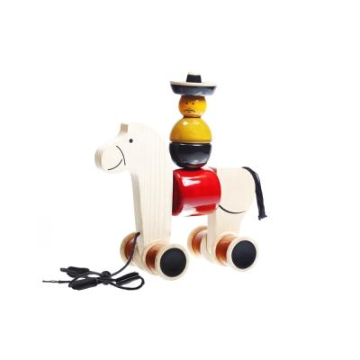 印度MAYA 牛仔騎兵手拉玩具-HEEHAW/單一尺寸