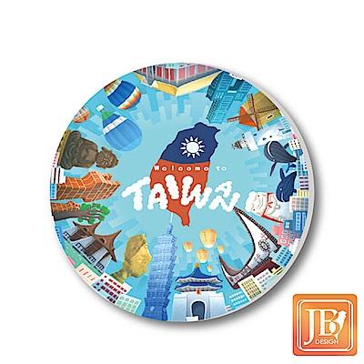 JB-Design陶瓷吸水杯墊760_環島台灣