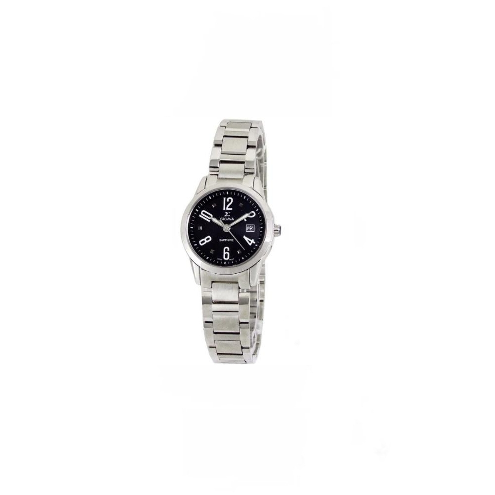 SIGMA 完美演繹精典時尚腕錶(黑/26mm)