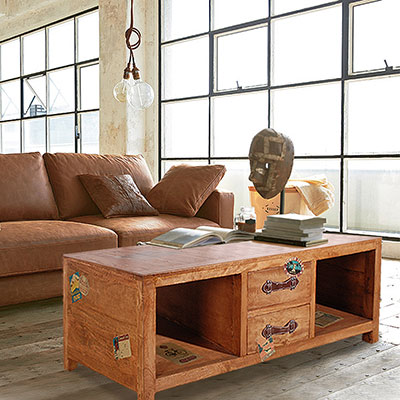ALMI_DOCKER WORLD - COFFEE TABLE 4DW 四抽大茶几-免裝