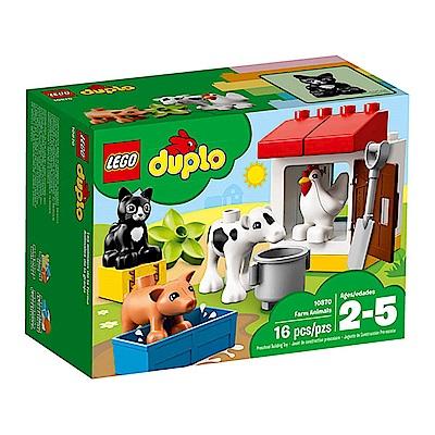 LEGO樂高 得寶系列 10870 農場動物