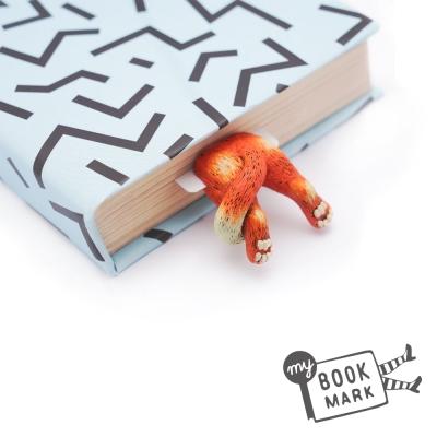禮物myBookmark手工書籤-肉球腳丫小紅貓