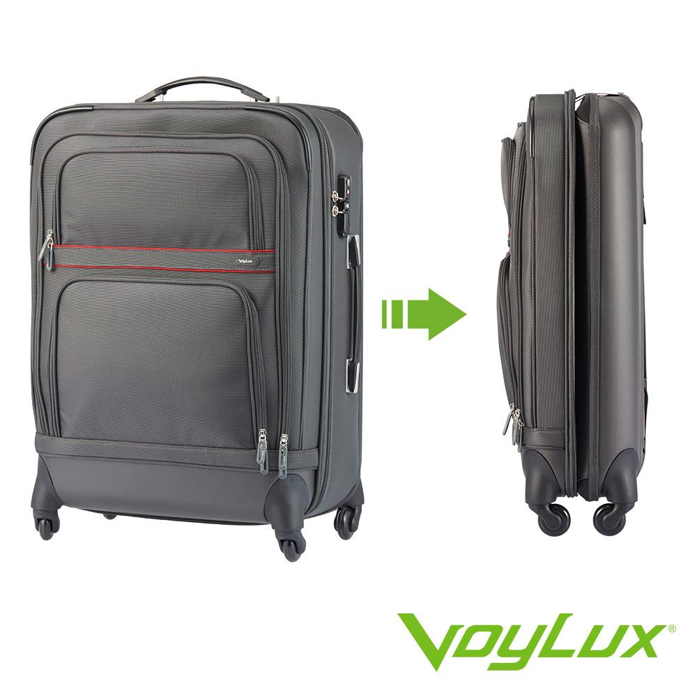 VoyLux 伯勒仕-Hybrid-26吋收摺專利行李箱-灰色-3988608