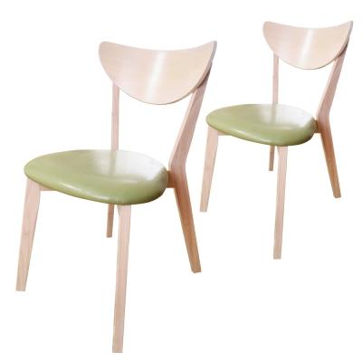 Boden-薇拉雙色餐椅(2入組)
