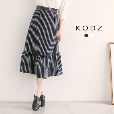 東京著衣-KODZ 優雅知性波浪魚尾裙聯名款-S.M.L(共二色)