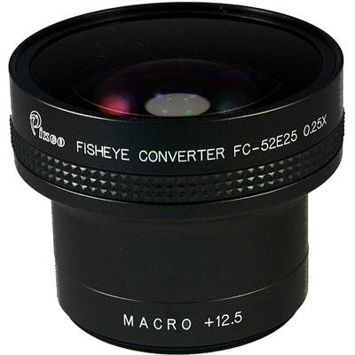 PIXCO  外接式0.25X魚眼鏡頭(口徑52mm)