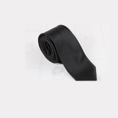 拉福 斜紋6cm中窄版領帶手打領帶 (黑色防水)