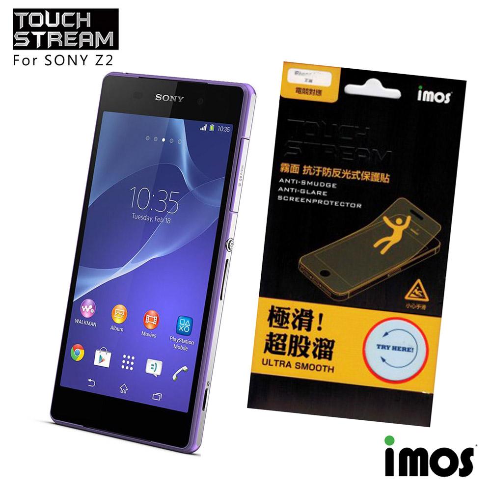 iMos Touch Stream Sony Z2霧面保護貼
