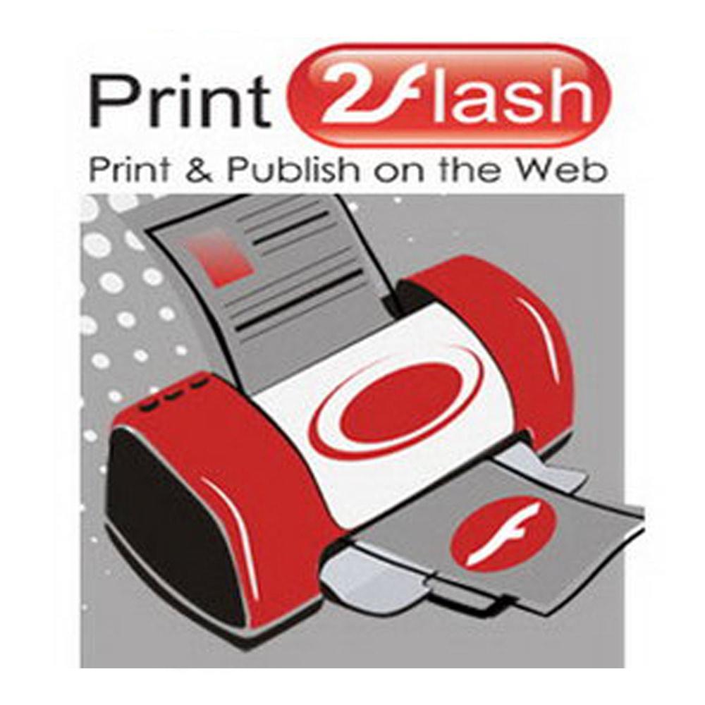 Print2Flash Basic (列印轉成flash) 標準版 單機版 (下載)