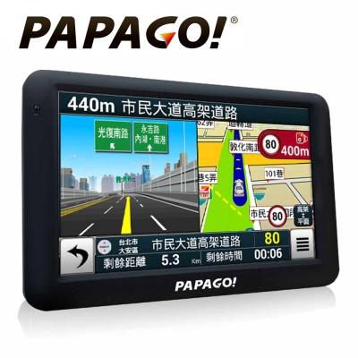 PAPAGO! GoPad 5 超清晰 Wi-Fi 5吋聲控導航平板機-快