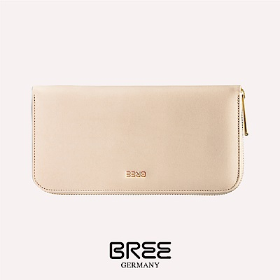 BREE Bornholm 111 自然色 組合式拉鍊長夾 38-185750111