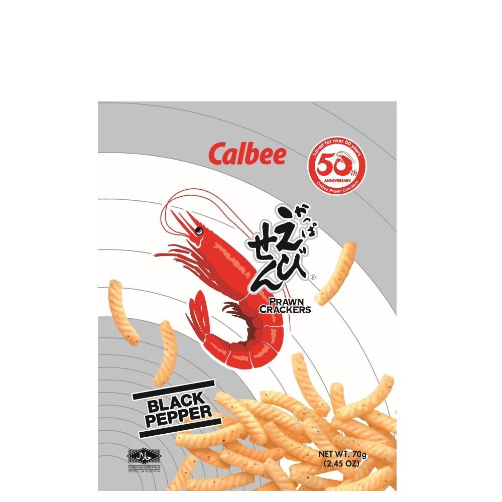 卡樂比Calbee加卡比鮮蝦條-黑胡椒口味70g