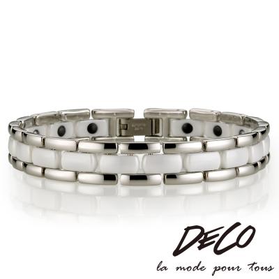 DECO X MASSA-G【純白風情】頂級陶瓷手環