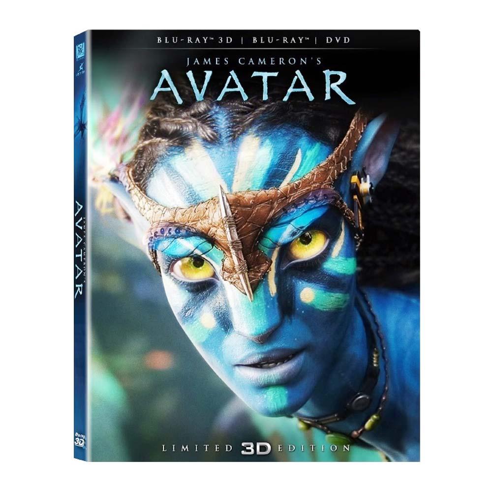 阿凡達 Avatar (3D/2D+DVD)  雙碟版  藍光 BD