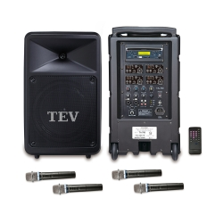 TEV CD/USB/SD四頻無線擴音機 TA780C-4