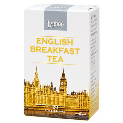 Typhoo 英倫早餐茶(2gx20入)