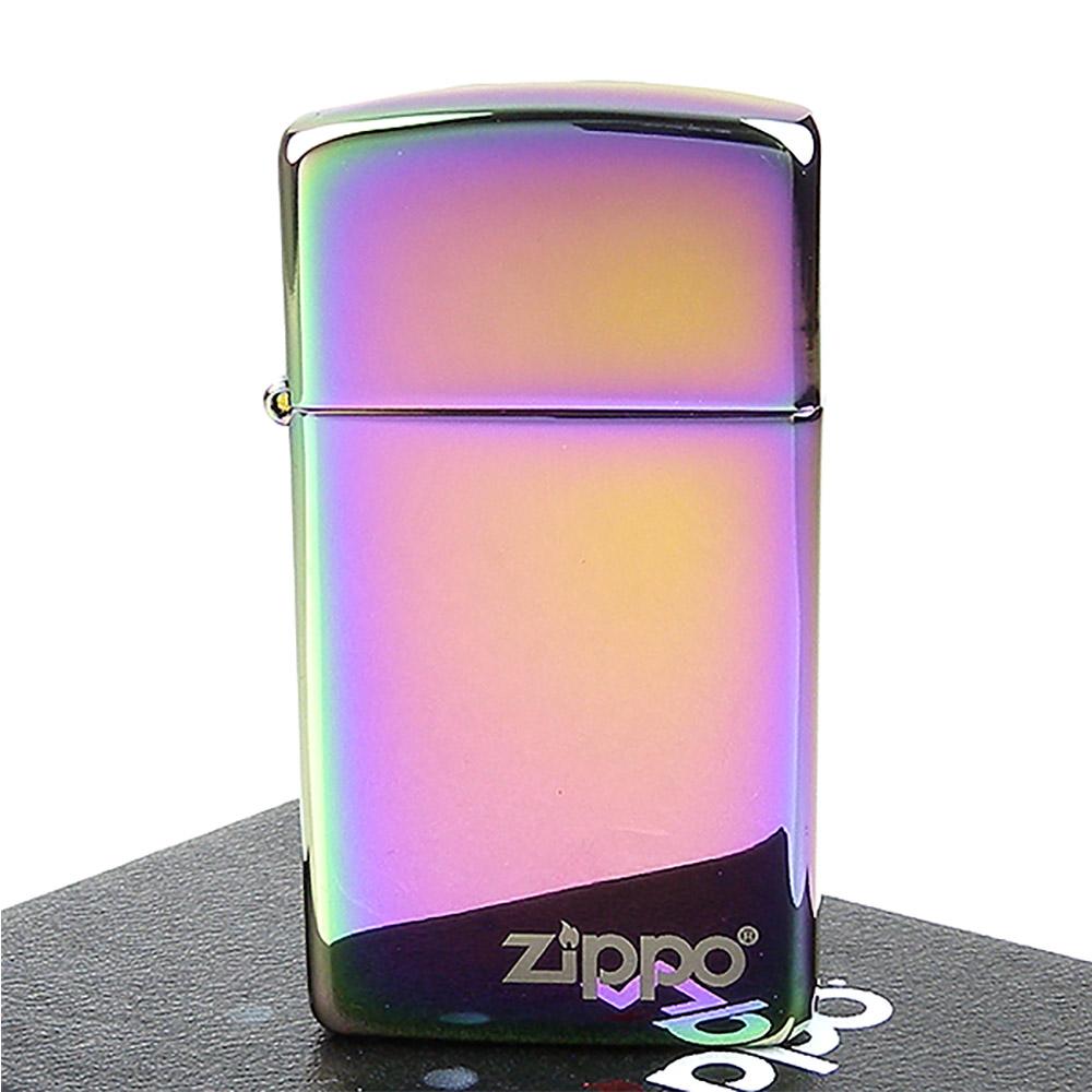 ZIPPO美系-LOGO字樣-超質感Spectrum光譜色鏡面打火機