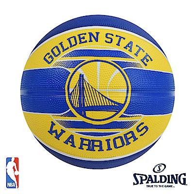 SPALDING 金州 勇士 Warriors #7 隊徽籃球 SPA83515