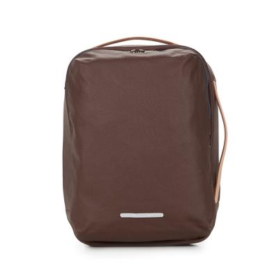 RAWROW-帆布系列-13吋三用經典後背包(後背/手提/肩背)-深棕-RBP270BR