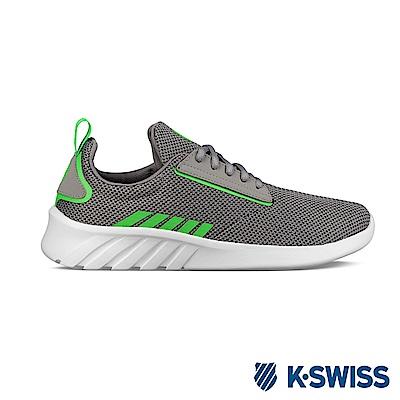 K-SWISS Aeronaut 輕量訓練鞋-男-灰/綠