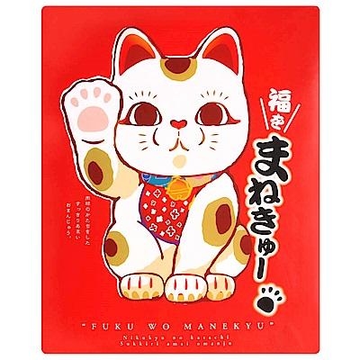 丸三食品招財貓白豆沙饅頭禮盒408g