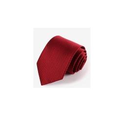拉福  領帶窄版領帶6cm防水領帶手打領帶(酒紅)